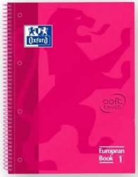 Cuaderno Oxford Toutch 5x5 Granate