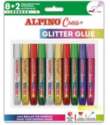 Alpino Glitter Glue 10 Colores